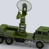 مدل سه بعدی رادار جنگی